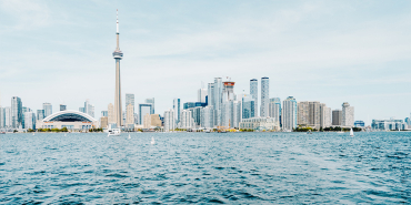 A view of Toronto city